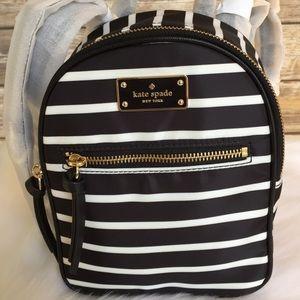 905a66a1fae3 kate spade Bags - Kate spade MINI Bradley Wilson stripe backpack bag